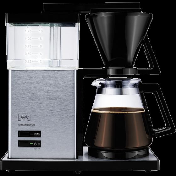 AromaSignature® Filterkaffeemaschine, Edelstahl
