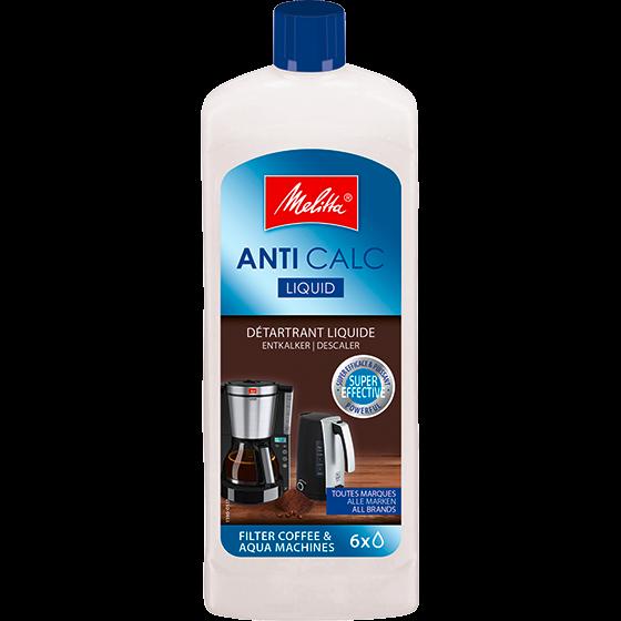 Anti Calc Flüssigentkalker für Filterkaffeemaschinen und Wasserkocher
